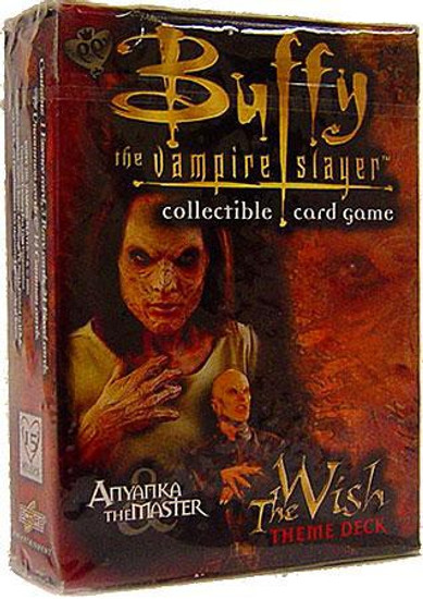 Buffy The Vampire Slayer Collectible Card Game The Wish Anyanka the Master Theme Deck
