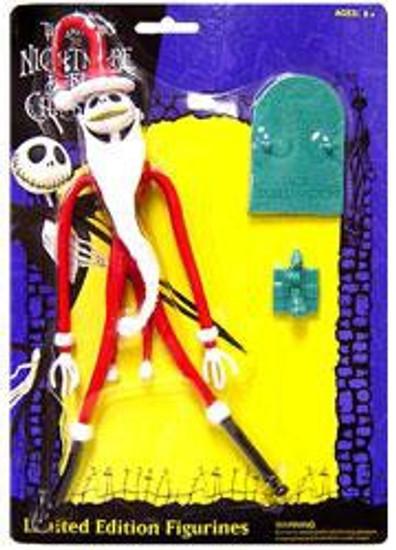 NECA Nightmare Before Christmas Bendable Jack Skellington Figure [Santa]