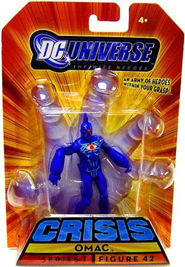 DC Universe Crisis Infinite Heroes Series 1 Omac Action Figure #42