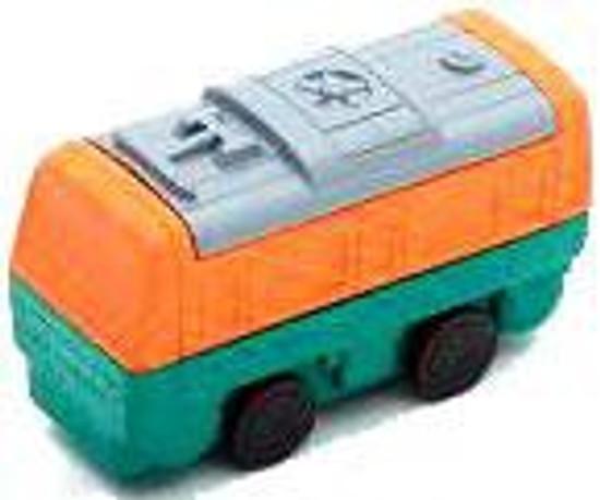 Iwako Train Car Eraser [Green & Orange]