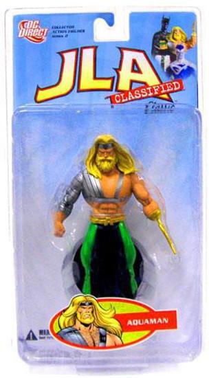 DC JLA Classified Classic Series 1 Aquaman Action Figure