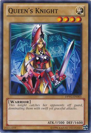 YuGiOh Duelist Pack Yugi Common Queen's Knight DPYG-EN003