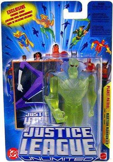 Justice League Unlimited Martian Manhunter Action Figure [Planet Patrol]