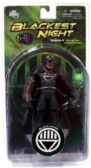 DC Green Lantern Blackest Night Series 4 Black Hand Action Figure