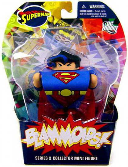 DC Blammoids Series 2 Superman Mini Figure