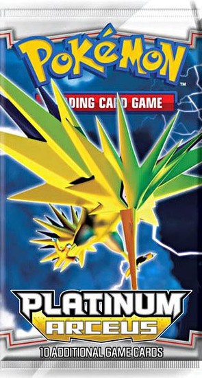Pokemon Trading Card Game Arceus Booster Pack [10 Cards]