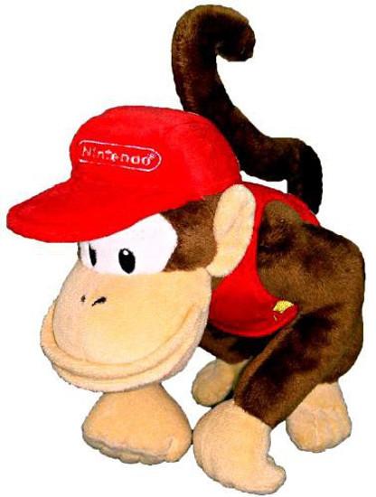 Super Mario Diddy Kong 6-Inch Plush