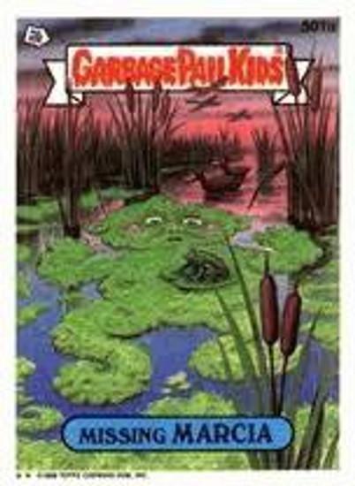 Garbage Pail Kids Topps Original 1980's Series 13 Trading Card Complete Set
