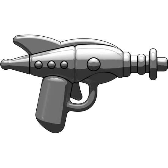 BrickArms Retro Ray Gun 2.5-Inch [Titanium]