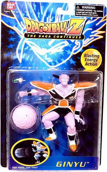 Dragon Ball Z Ginyu Action Figure
