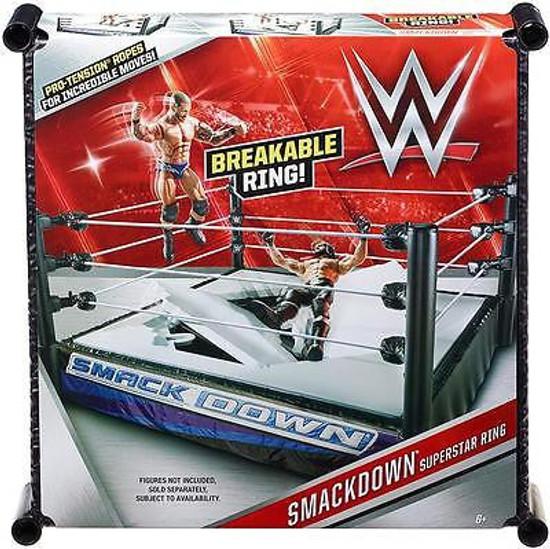 WWE Wrestling Smackdown Superstar Ring [Breakable]