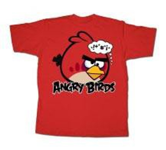 Angry Birds Bonkers T-Shirt [Adult Small]