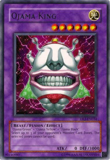 YuGiOh Dark Revelation 3 Rare Ojama King DR3-EN034