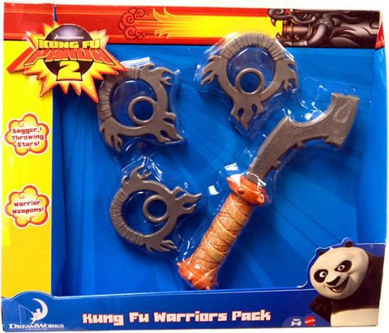 Kung Fu Panda 2 Kung Fu Warriors Pack Exclusive Roleplay Toy