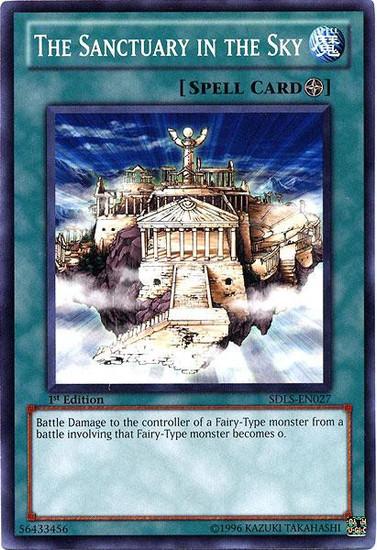 YuGiOh YuGiOh 5D's Structure Deck: Lost Sanctuary Common The Sanctuary in the Sky SDLS-EN027