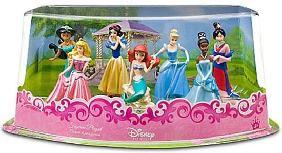 Disney Princess Exclusive 7-Piece PVC Figure Playset #1 [Set #1]