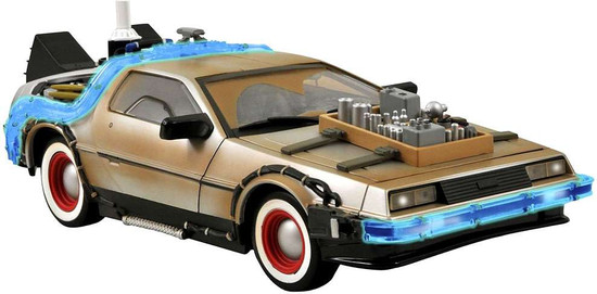 Back to the Future III Delorean Time Machine Action Figure