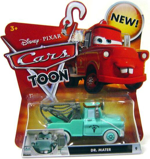 Disney / Pixar Cars Cars Toon Main Series Dr. Mater Diecast Car #9 [Mask Down]