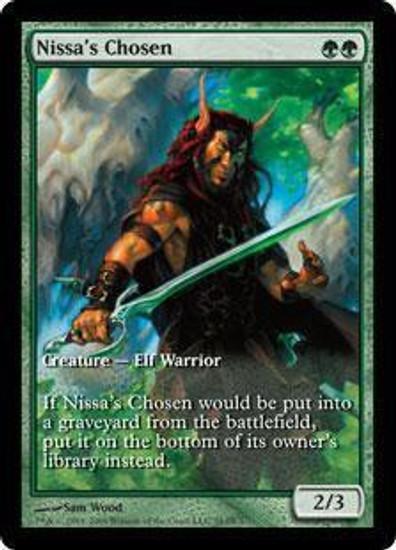 MtG Assorted Promo Cards Promo Nissa's Chosen [Zendikar Game Day]