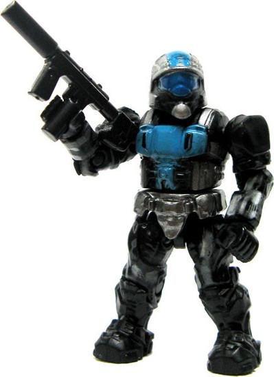Mega Bloks Halo ODST Urban Specialist 2-Inch Minifigure [Blue & Silver Loose]
