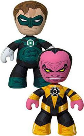 DC Green Lantern Mez-Itz Hal Jordan & Sinestro Exclusive Vinyl Figure 2-Pack
