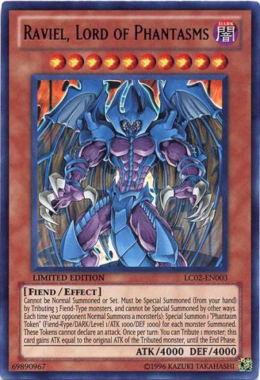 YuGiOh GX Trading Card Game Legendary Collection 2 Ultra Rare Raviel, Lord of Phantasms LC02-EN003