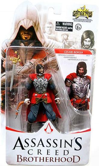Assassin's Creed Brotherhood Gamestars Cesare Borgia Action Figure