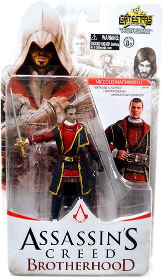 Assassin's Creed Brotherhood Gamestars Niccolo Machiavelli Action Figure
