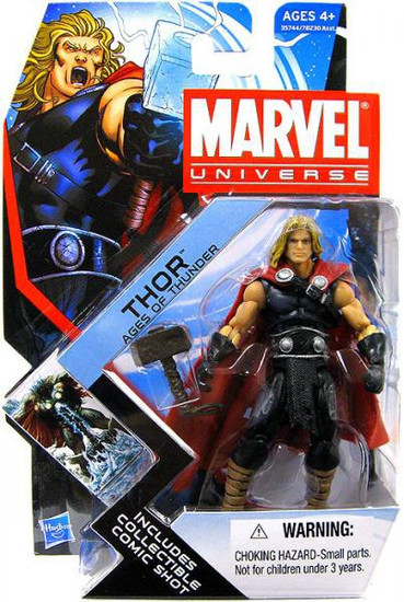 Marvel Universe Series 17 Thor Action Figure #1 [Ages of Thunder]
