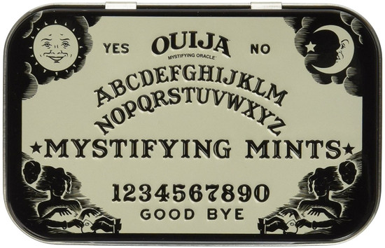 Candy Ouija Mystifying Mints Candy Tin