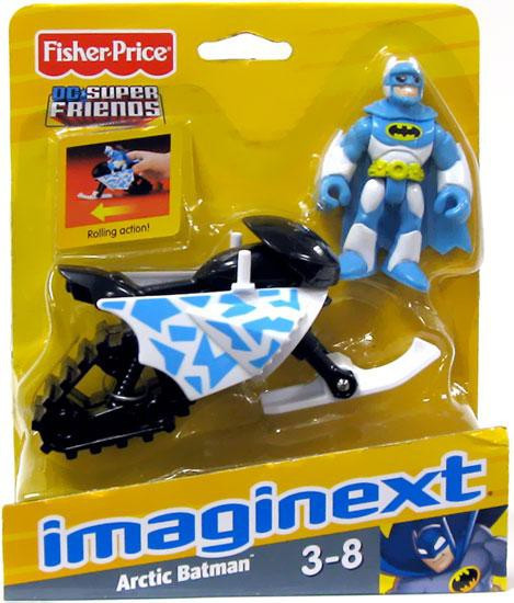 Fisher Price DC Super Friends Imaginext Arctic Batman 3-Inch Figure Set