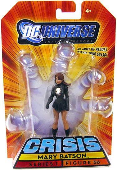 DC Universe Crisis Infinite Heroes Series 1 Mary Batson Action Figure #56
