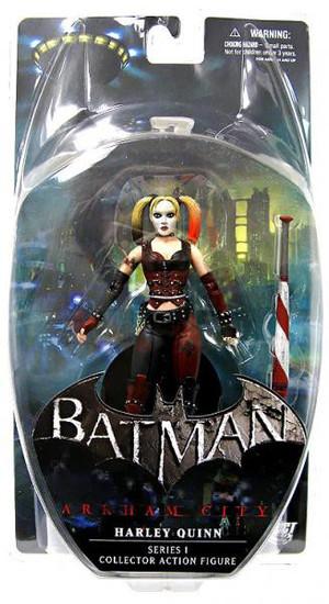 Batman Arkham City Series 1 Harley Quinn Action Figure