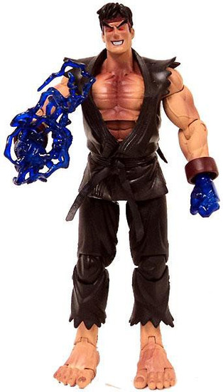 Street Fighter Round 1 Evil Ryu Action Figure [Loose]