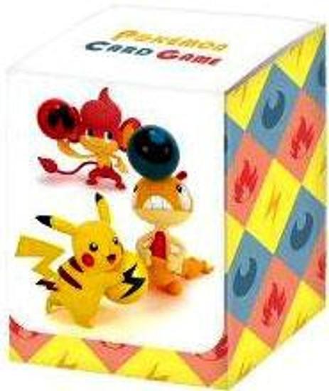 Pokemon Trading Card Game Black & White Pikachu, Pansear & Scraggy Deck Box