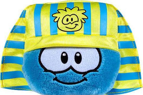 Club Penguin Series 10 Blue Puffle 4-Inch Plush [Pharaoh Headress Hat]