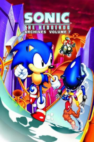 Sonic The Hedgehog Archives Volume 7 Trade Paperback