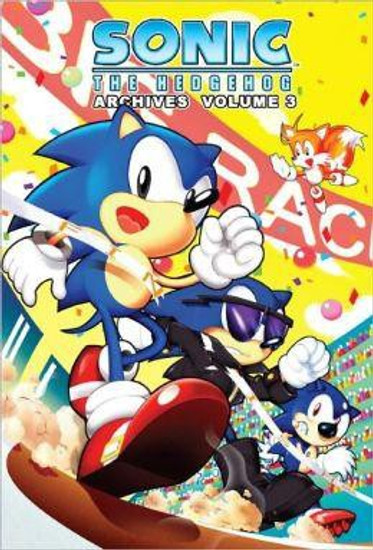 Sonic The Hedgehog Archives Volume 3 Trade Paperback