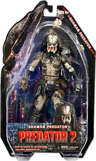 NECA Predator 2 Series 4 Shaman Predator Action Figure
