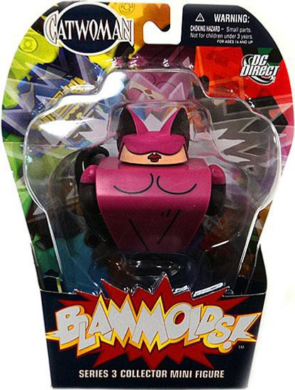 DC Blammoids Series 3 Catwoman Mini Figure