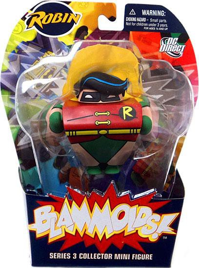 DC Blammoids Series 3 Robin Mini Figure