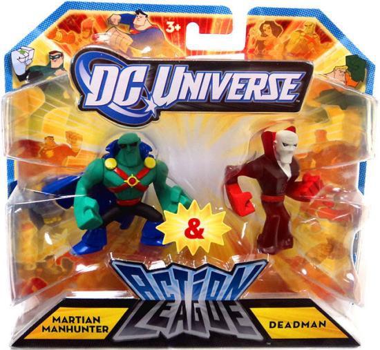 DC Universe Action League Martian Manhunter & Deadman 3-Inch Mini Figures