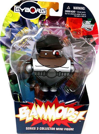 DC Blammoids Series 3 Cyborg Mini Figure