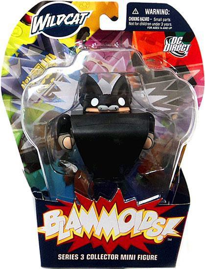 Blammoids Series 3 Wildcat Mini Figure