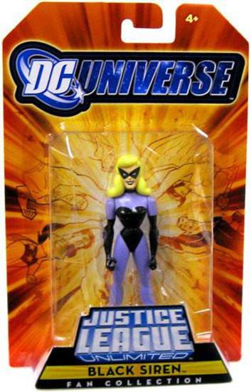 DC Universe Justice League Unlimited Fan Collection Black Siren Exclusive Action Figure