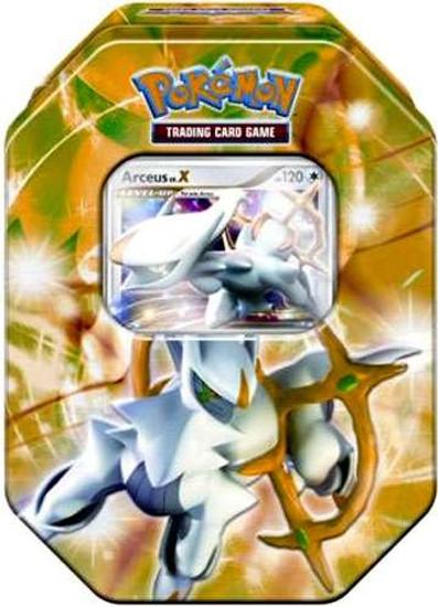 Pokemon Trading Card Game 2009 Arceus Exclusive Tin Set [Green]