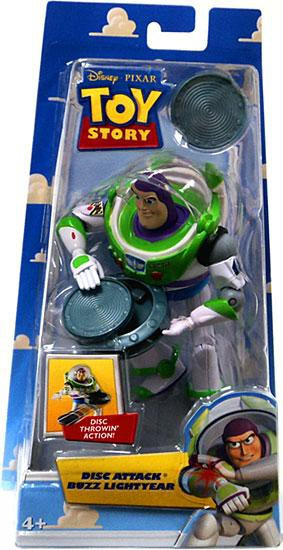 Toy Story Buzz Lightyear Action Figure [Disc Attack]