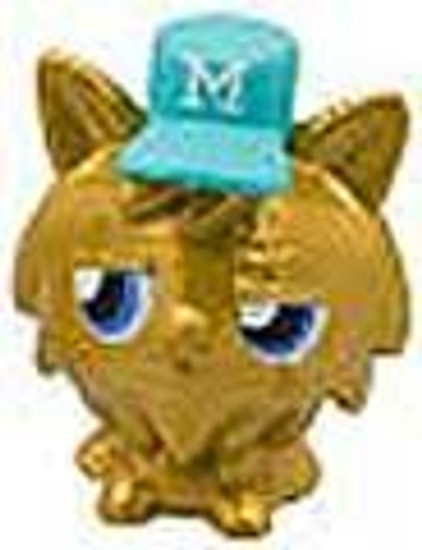 Moshi Monsters Moshlings Gold Limited Edition Gingersnap 1.5-Inch Mini Figure