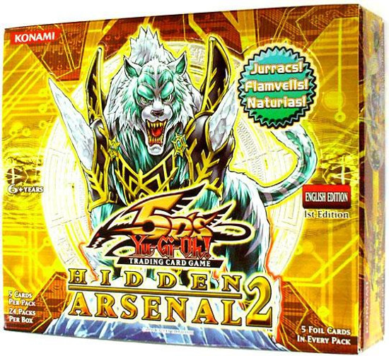 YuGiOh Trading Card Game Hidden Arsenal 2 Booster Box [24 Packs]