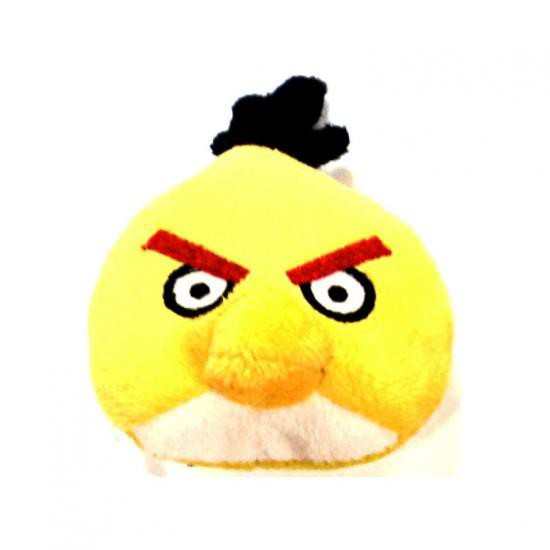 Angry Birds Yellow Bird 3-Inch Bean Bag Plush